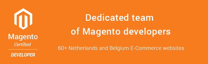 The dedicated team of Magento developers for Dutch software development company