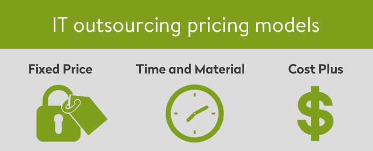 it outsourcing pricing models