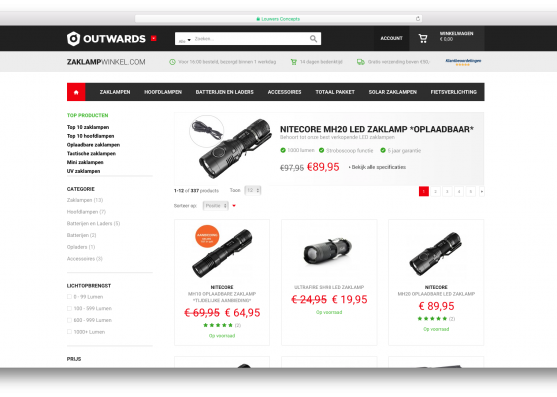 outwards zaklamwinkel catalog