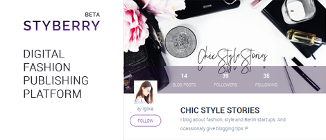 Styberry: a Digital Fashion Publishing Platform