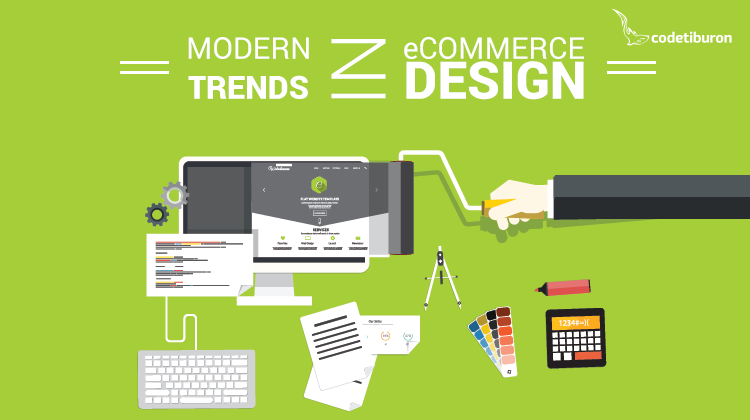 ecommerce website design trends 2017