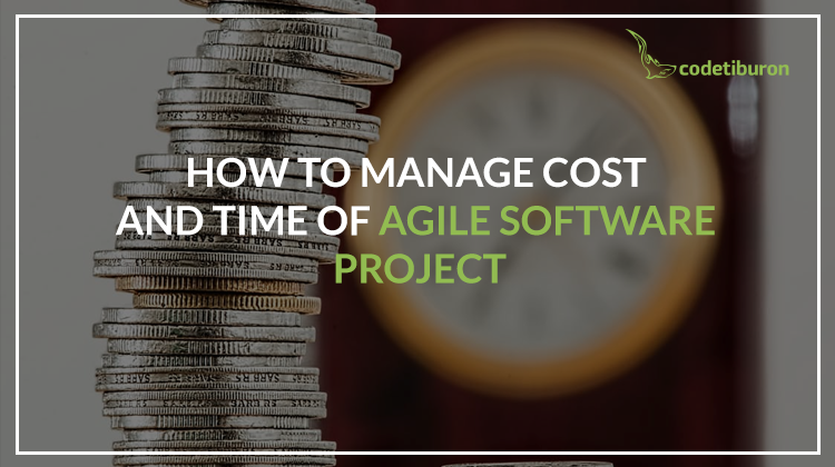 manage cost time agile projects