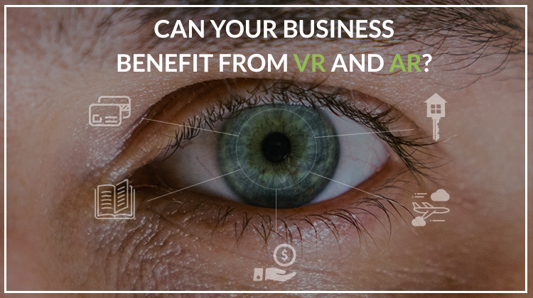 Business virtual and augmented reality technologies