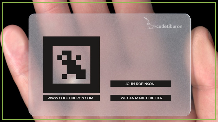 AR business card