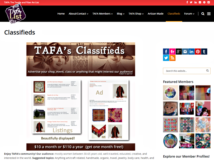 classifieds on WordPress