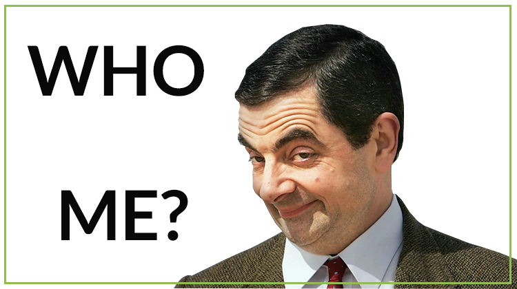 meme 'Who? Me?'