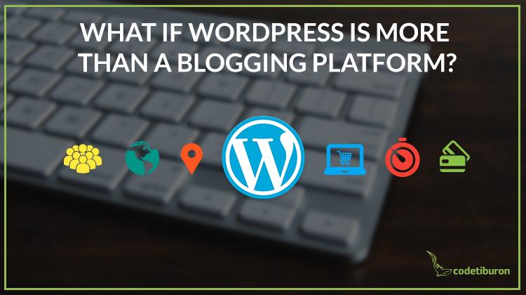wordpress for business website