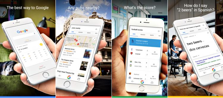 Google app screenshot