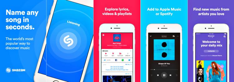 Shazam app screenshot