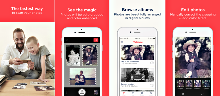 Scanner app by Photomyne screenshot