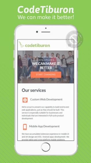 CodeTiburon app screenshot