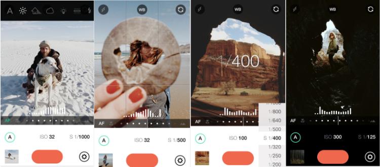 Manual-Raw custom exposure camera app advert