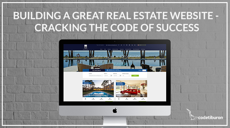 building a real estate website - cracking the code of success