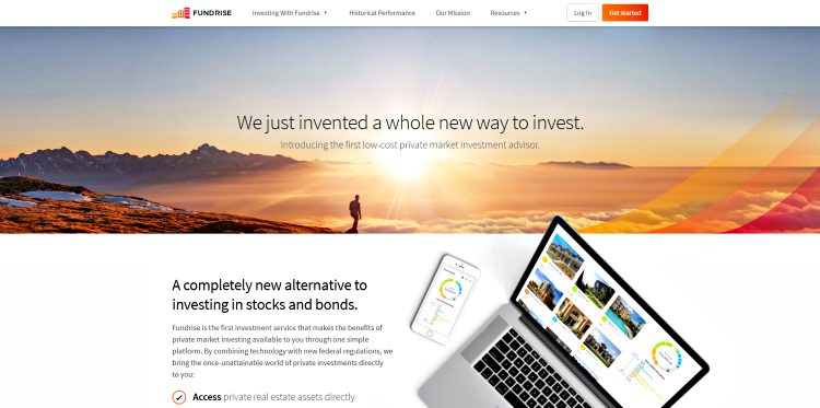 Fundrise_crowdfunding website