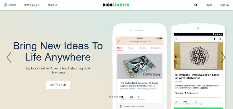 Kickstarter_crowdfunding website