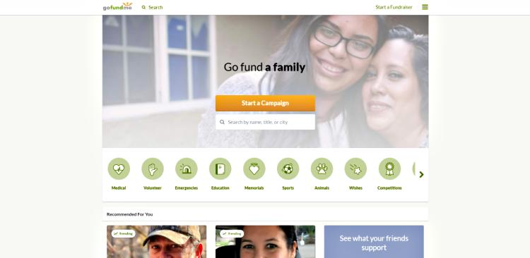 Gofundme_crowdfunding website
