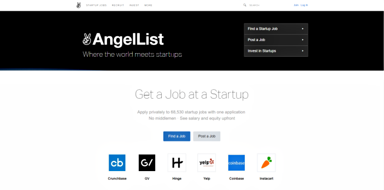 AngelList_crowdfunding website