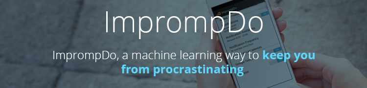 Machine learning in ImprompDo