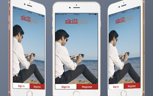 Corporate online learning mobile application