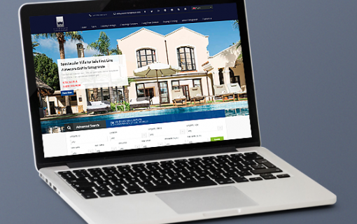 Real estate website on WordPress