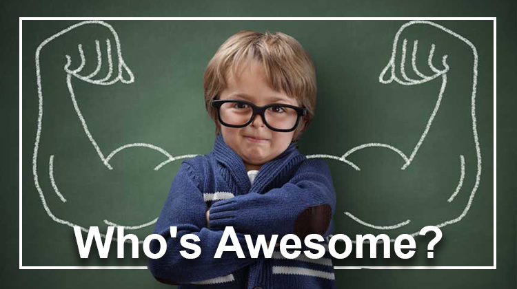 Meme 'Who's awesome?'