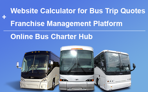 Website Calculator for bus trip quotes