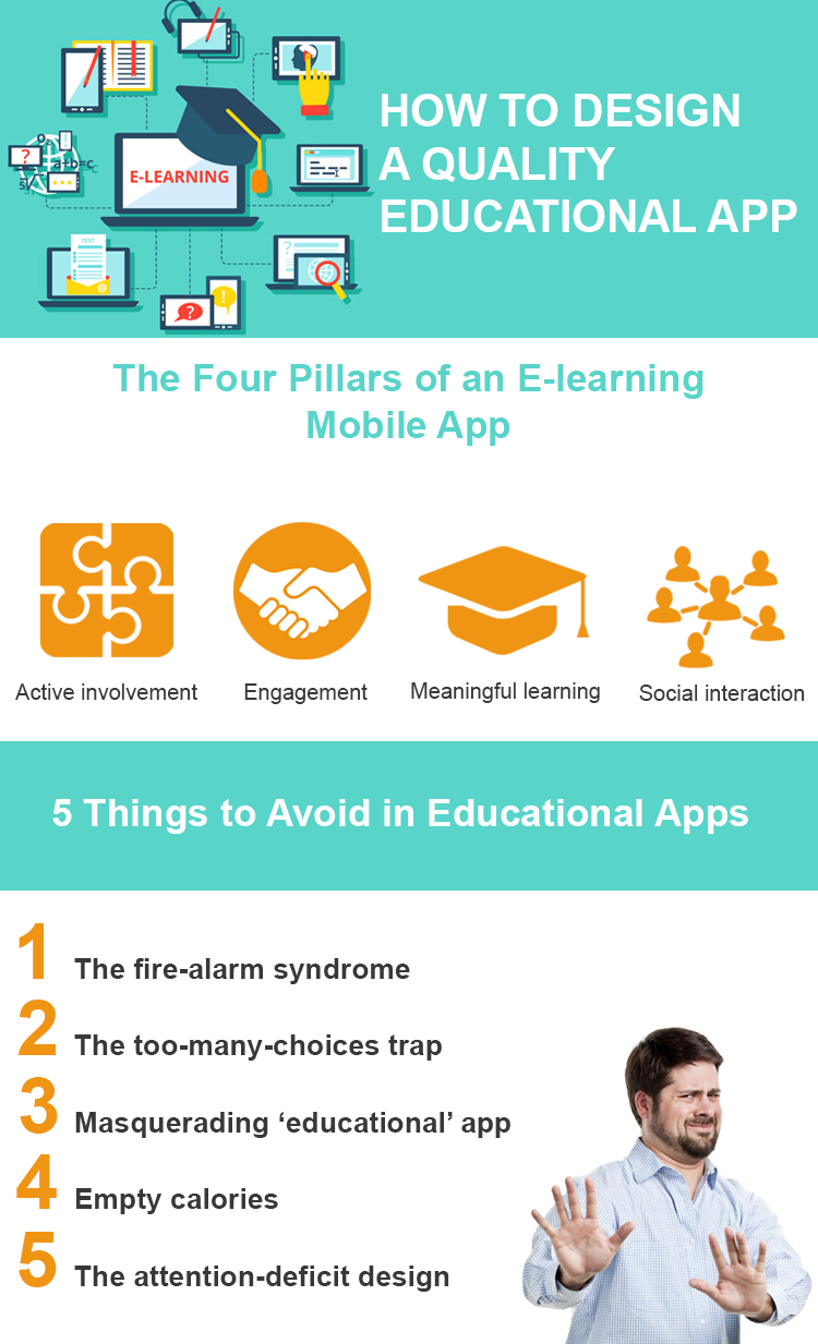how to design a quality educational app