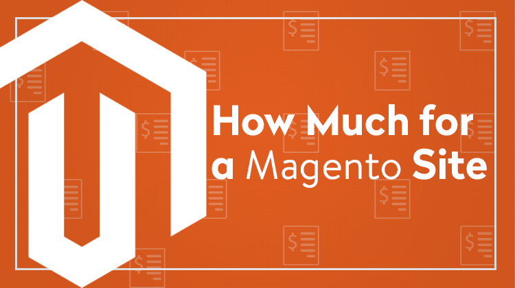 how much does a magento website cost