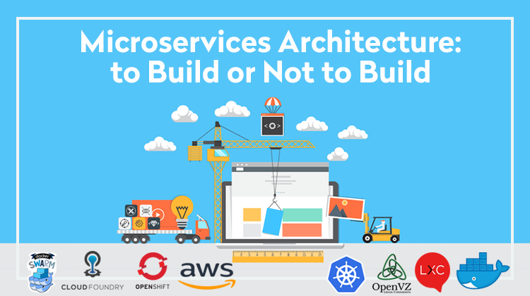 Microservices architecture in application building: what