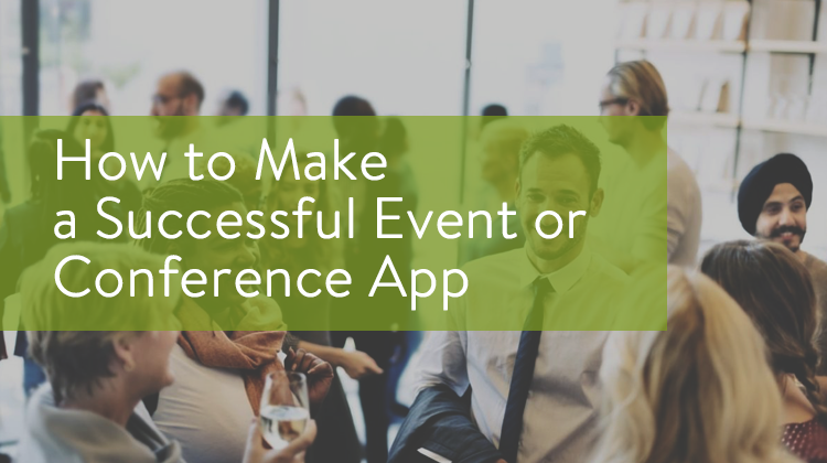 how to make an event app