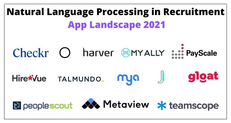 Natural Language Processing in Recruitment App Landscape 2021